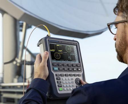 罗德与施瓦茨推出最高26.5 GHz的新型手持式矢量网络分析仪