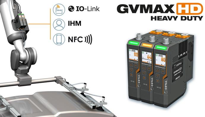 Coval GVMAX HD:适用于不同行业的多功能真空发生器