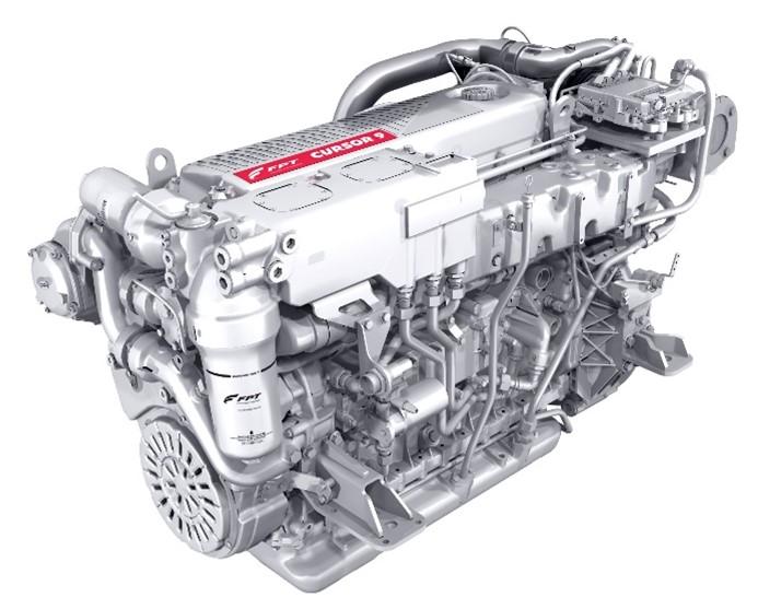 菲亚特动力科技发布Stage V船用发动机,推出一款龙骨冷却的全新型号